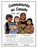 Communautés au Canada, 1780...