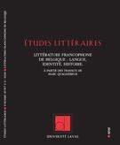 Études littéraires, vol. 49...