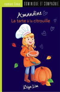 Cover image (Amandine - La tarte à la citrouille)