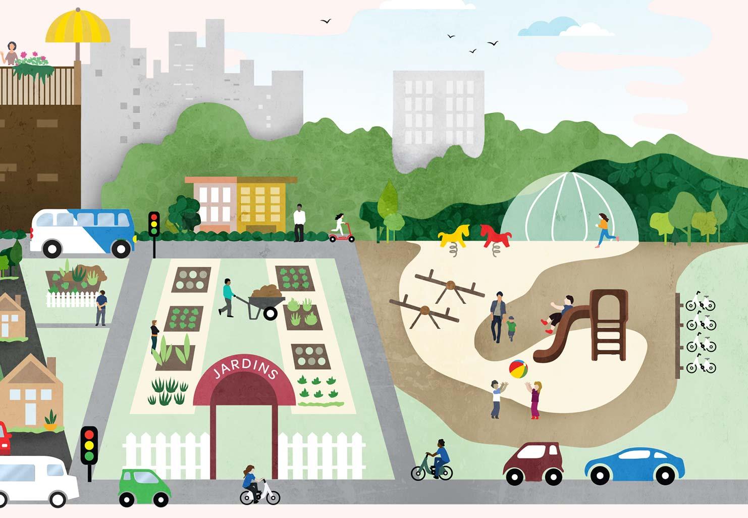 Trois arguments pour l'amour de l'urbanité
