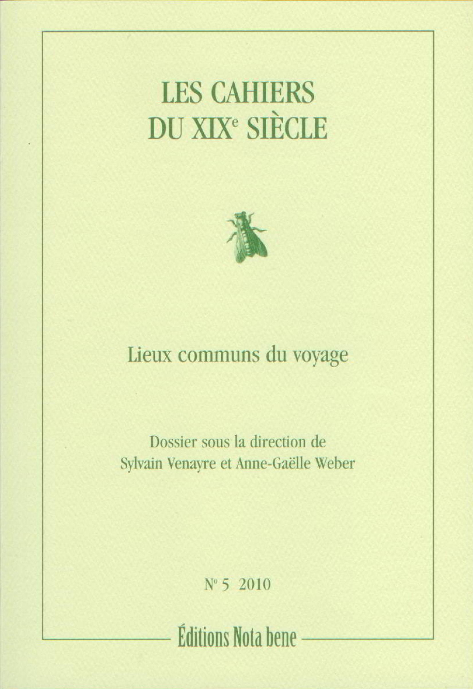 Les Cahiers du XIXe siècle,...