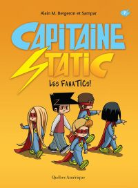 Image de couverture (Capitaine Static 7 - Les FanaTICs!)