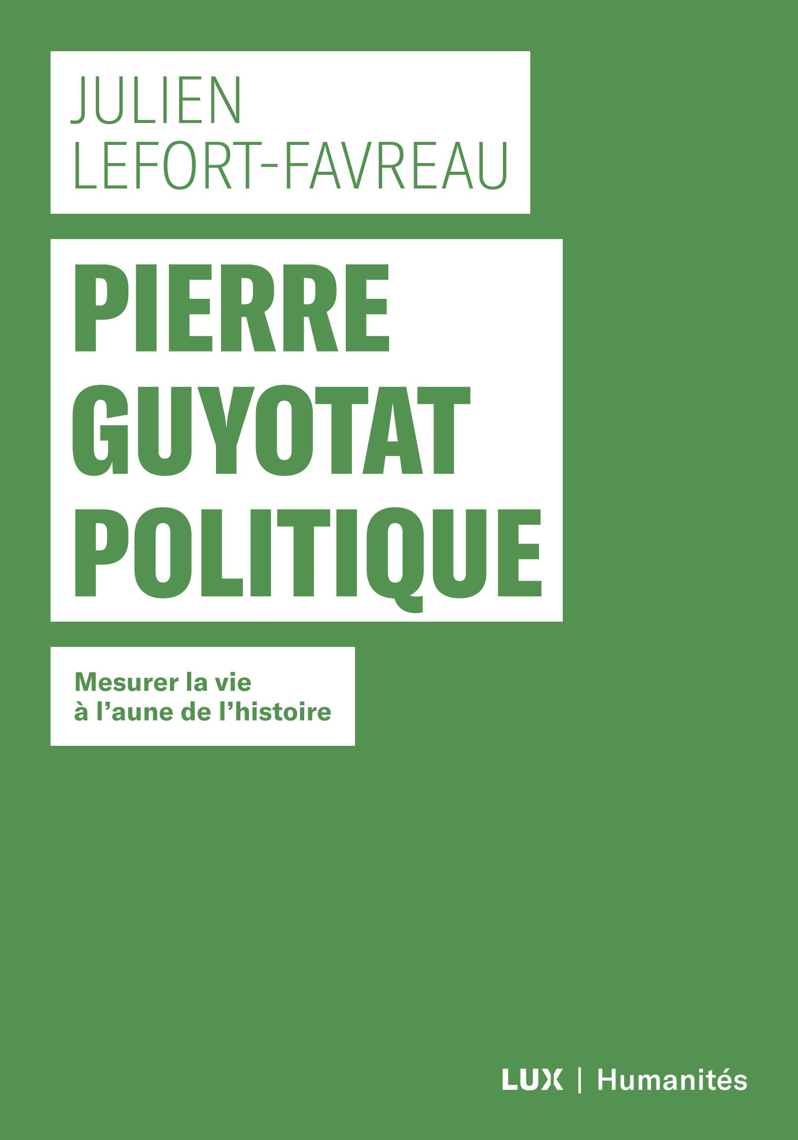 Pierre Guyotat politique