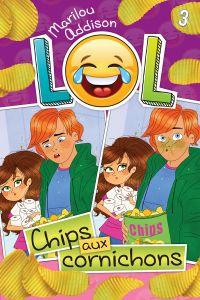 Chips aux cornichons