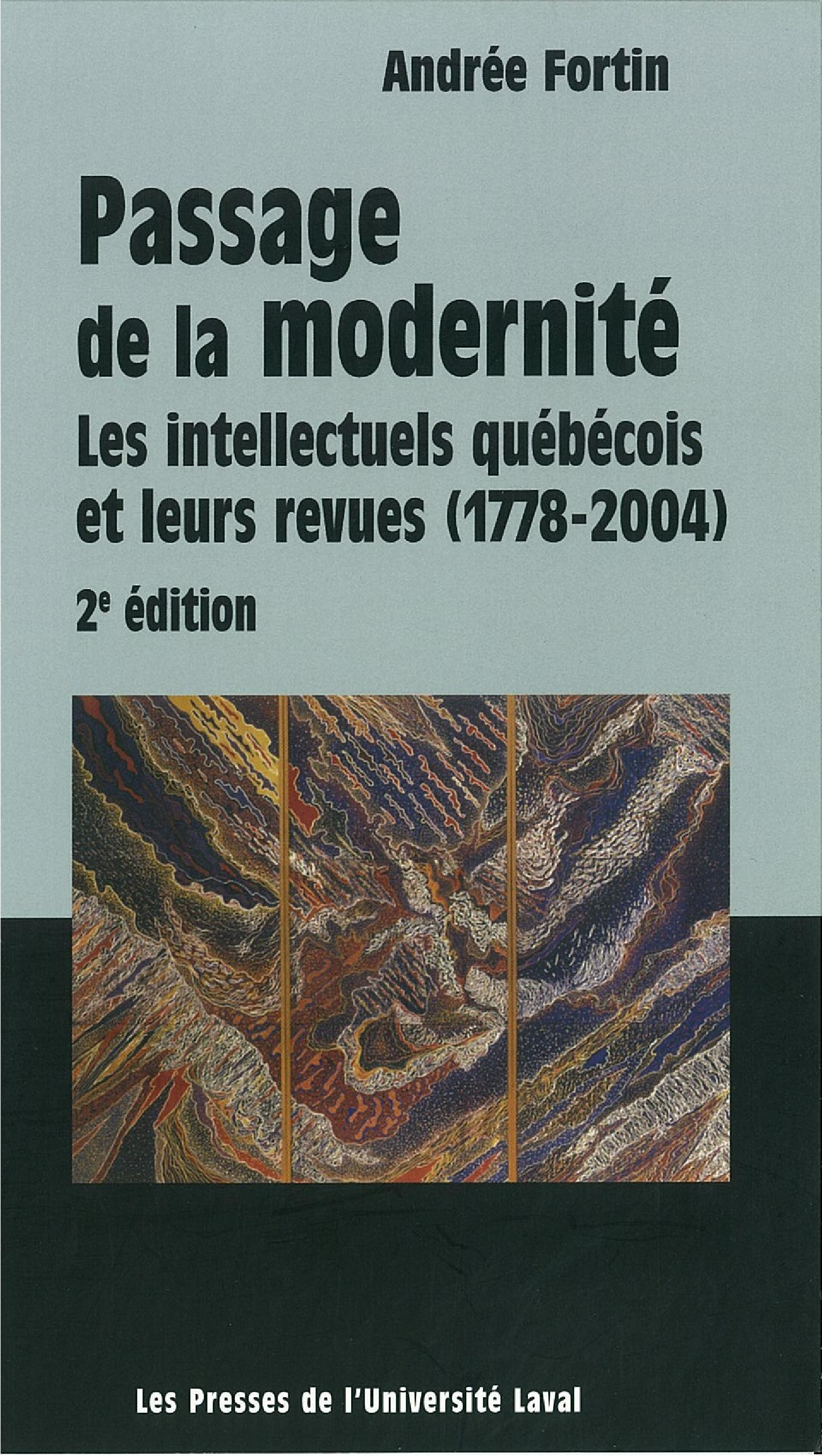 Passage de la modernité: in...