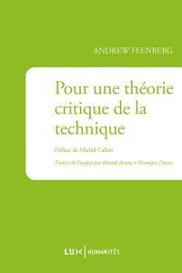 Pour une théorie critique de la technique