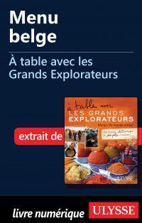 Menu belge - À table avec l...