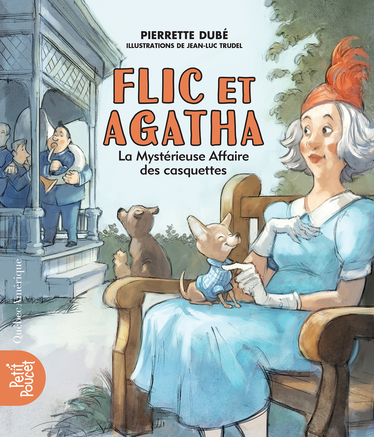 Flic et Agatha - La Mystérieuse Affaire des casquettes