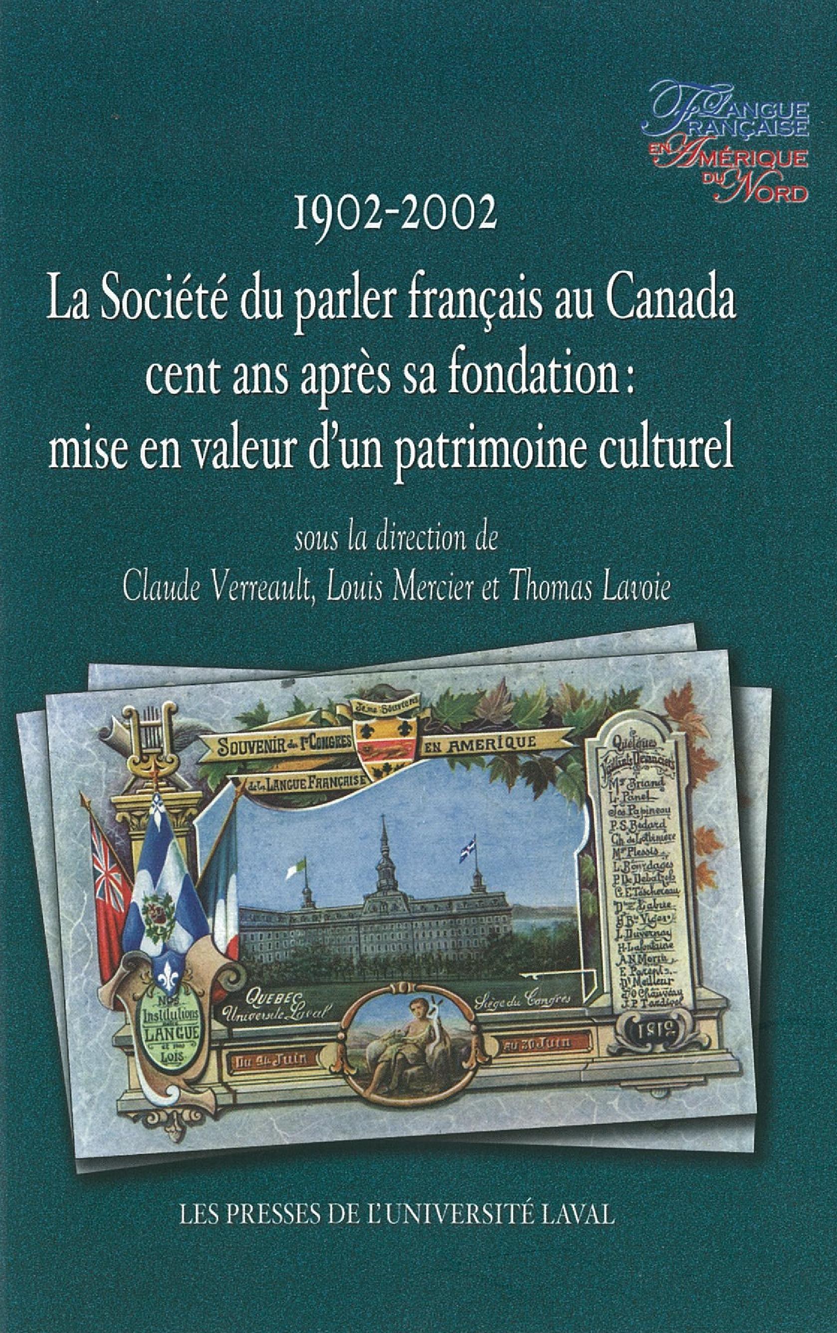 Société du parler-français (1902-2002)