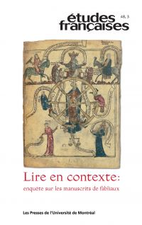 Études françaises. Vol. 48 No. 3,  2012