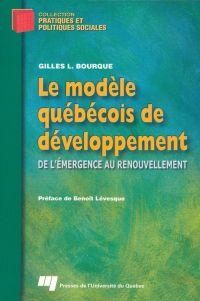 Le modèle québécois de déve...