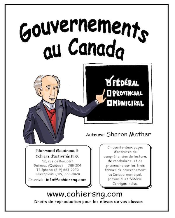 Gouvernements au Canada