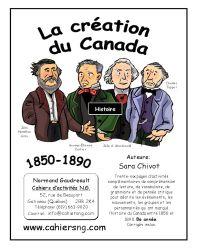 La création du Canada (1850...