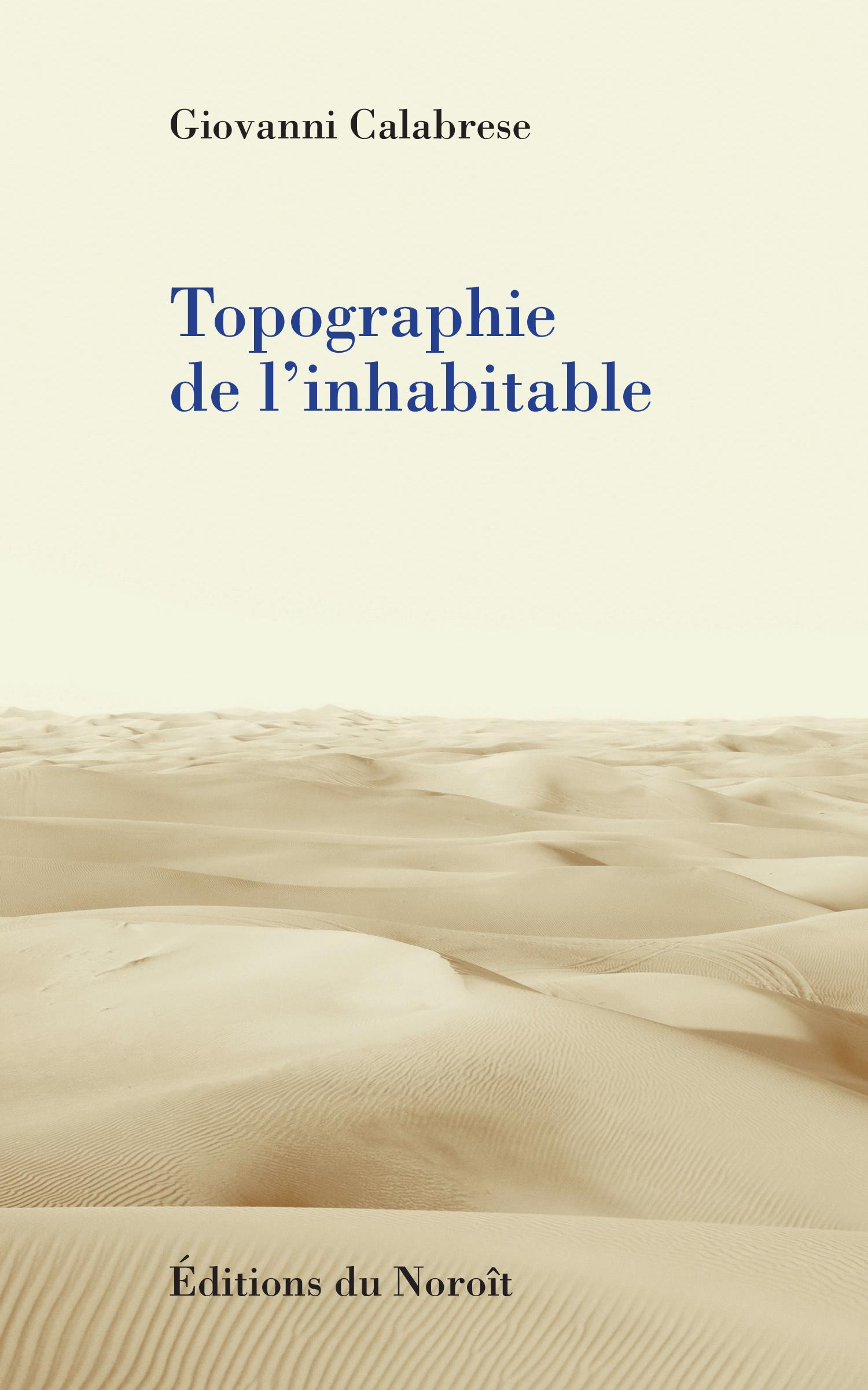 Topographie de l'inhabitable