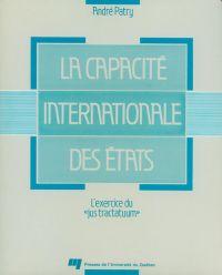 La capacité internationale ...