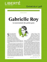 Revue Liberté 306 - Rétrovi...