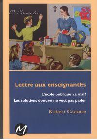 Lettre aux enseignantEs