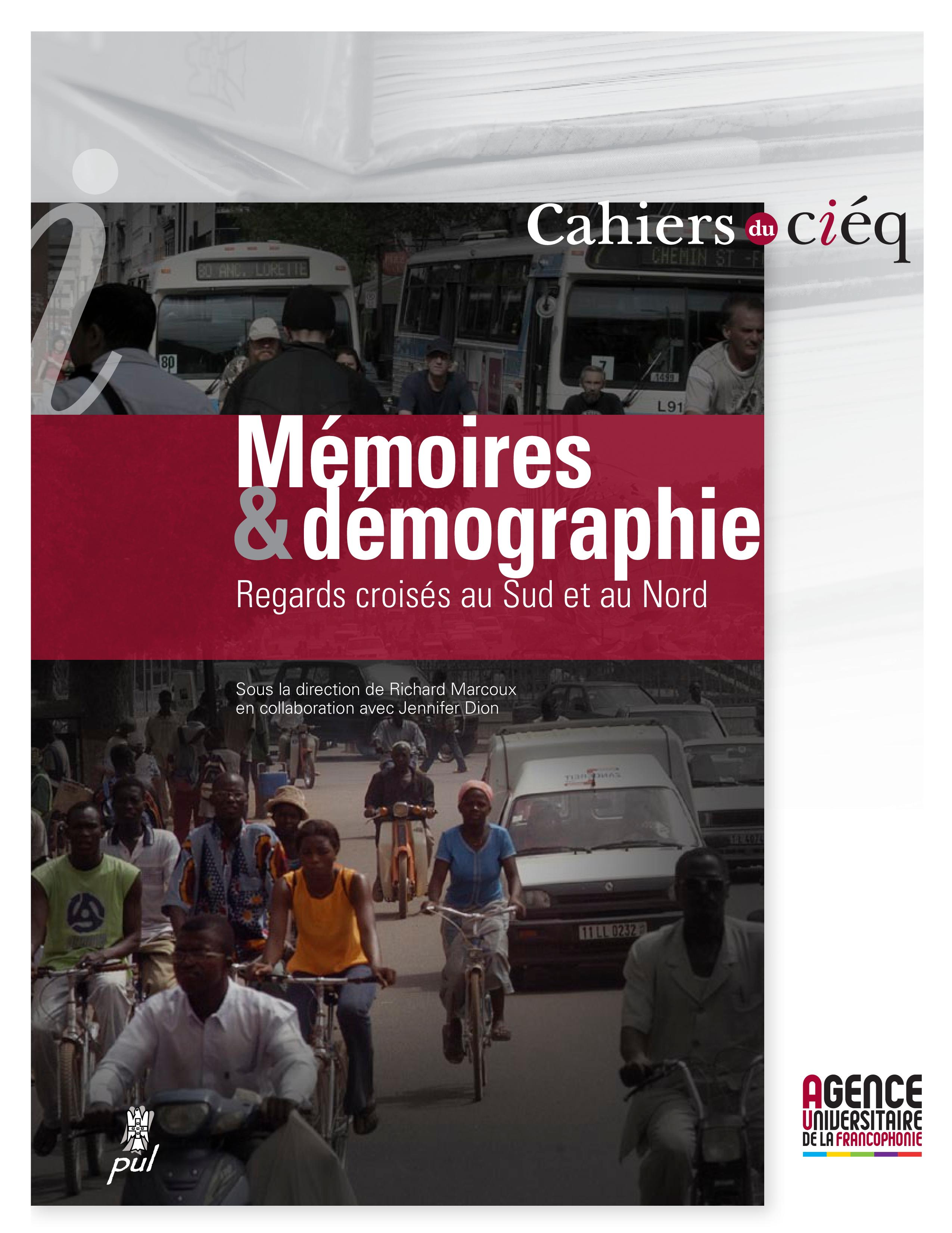 Mémoires et démographie