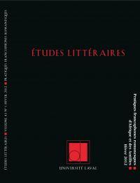 Études littéraires, volume ...