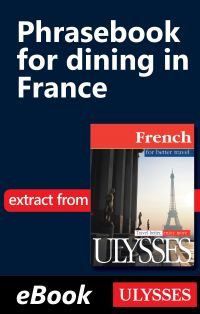 Phrasebook for dining in Fr...