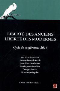 Liberté des Anciens, libert...