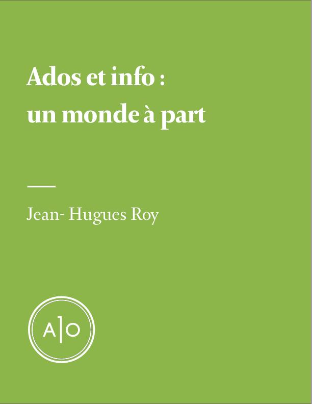 Ados et info: un monde à part