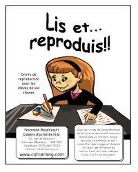 Lis et... reproduis!!