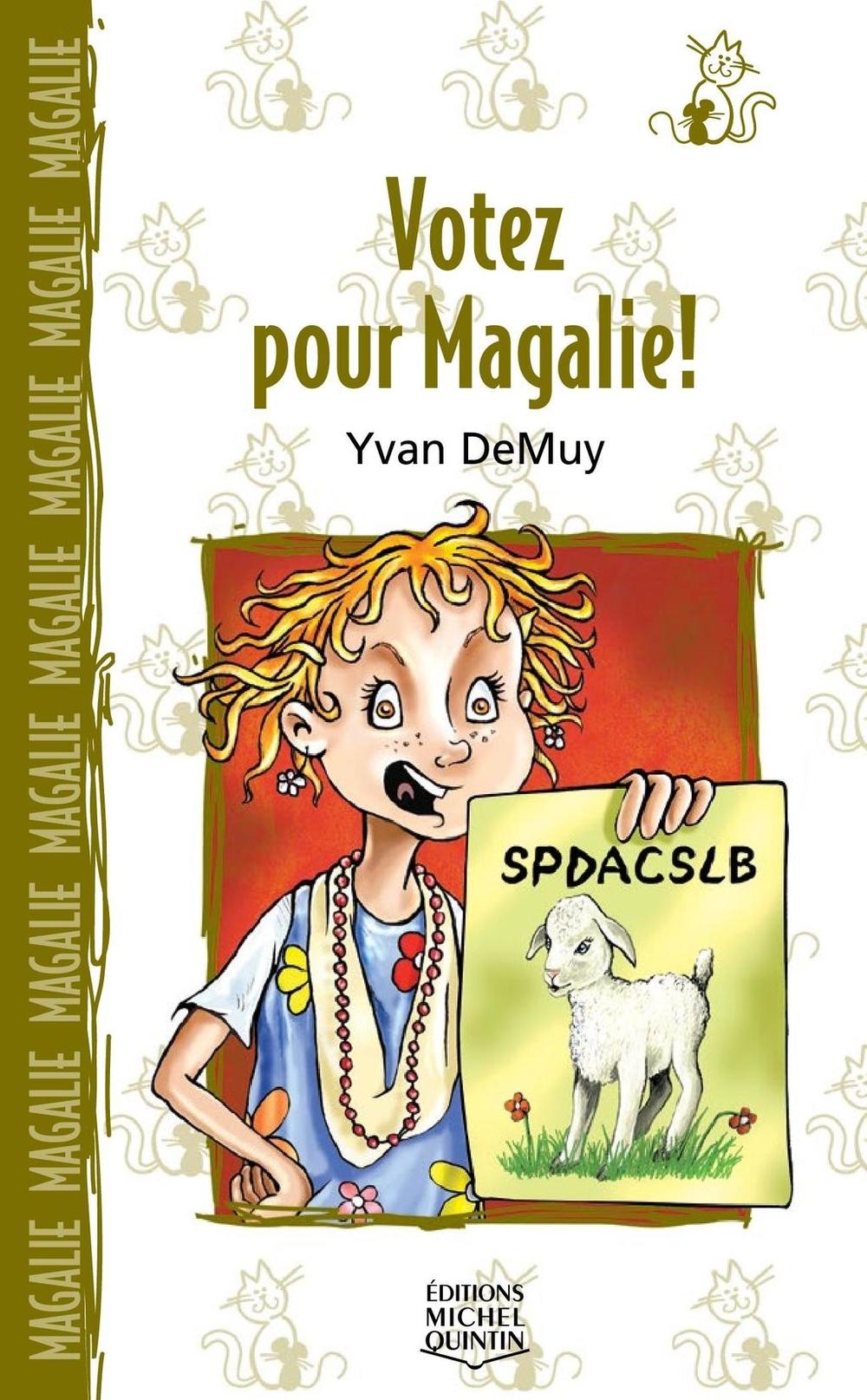 Magalie 4 - Votez pour Magalie!