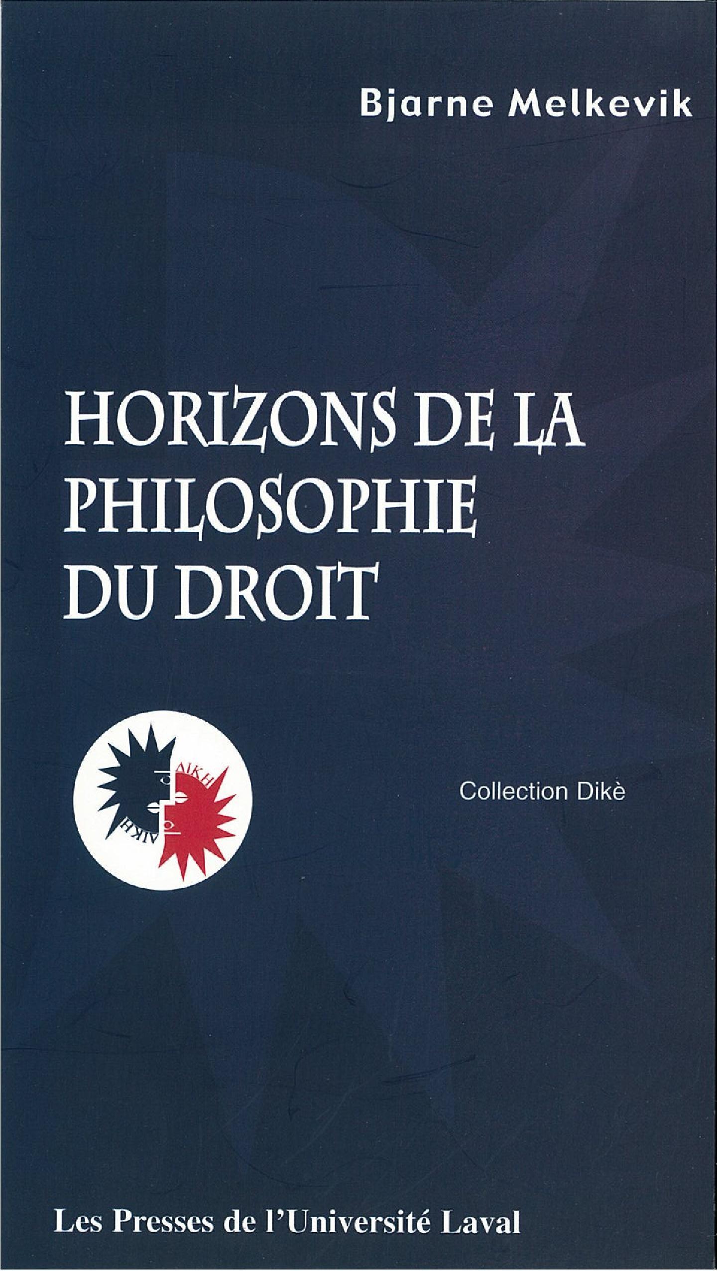 Horizons de la philosophie dudroit