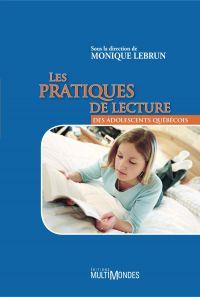 Image de couverture (Les pratiques de lecture des adolescents québécois)