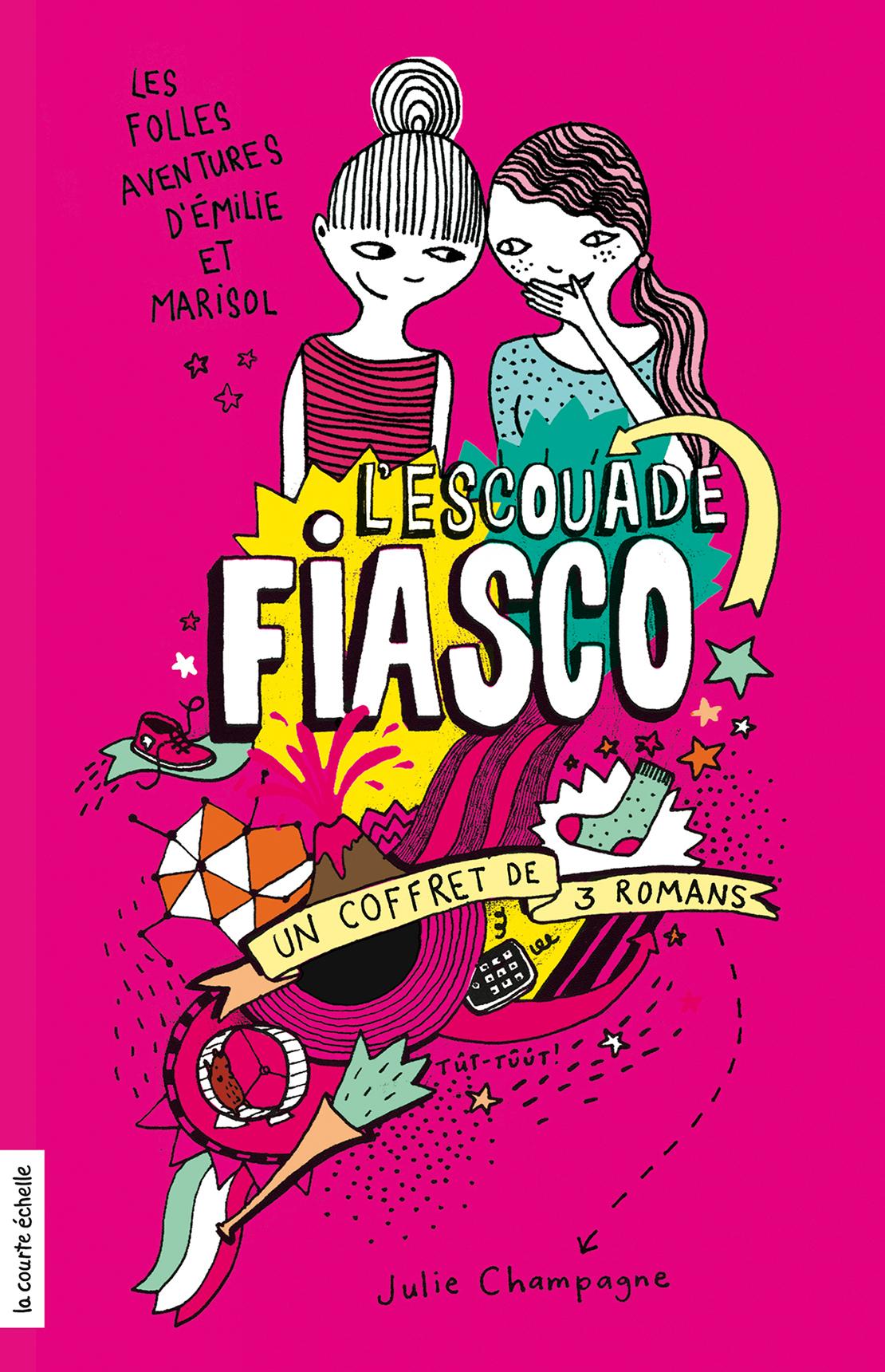 Coffret Escouade Fiasco, tomes 1, 2 et 3