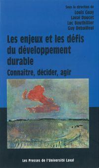 Les enjeux et défis du développement durable