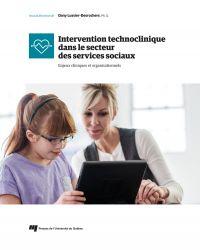 Cover image (Intervention technoclinique dans le secteur des services sociaux)