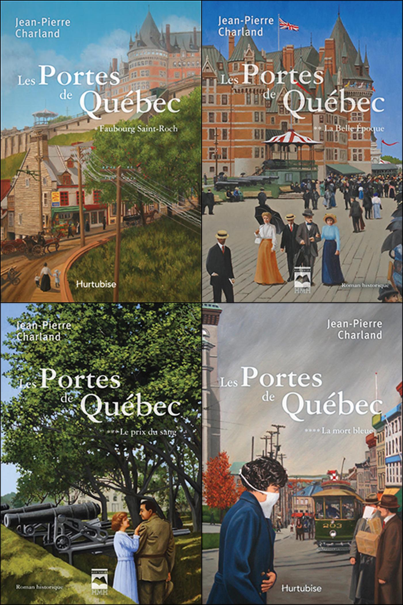 Vignette du livre Portes de Québec (Les) (coffret Tomes 1-2-3-4)