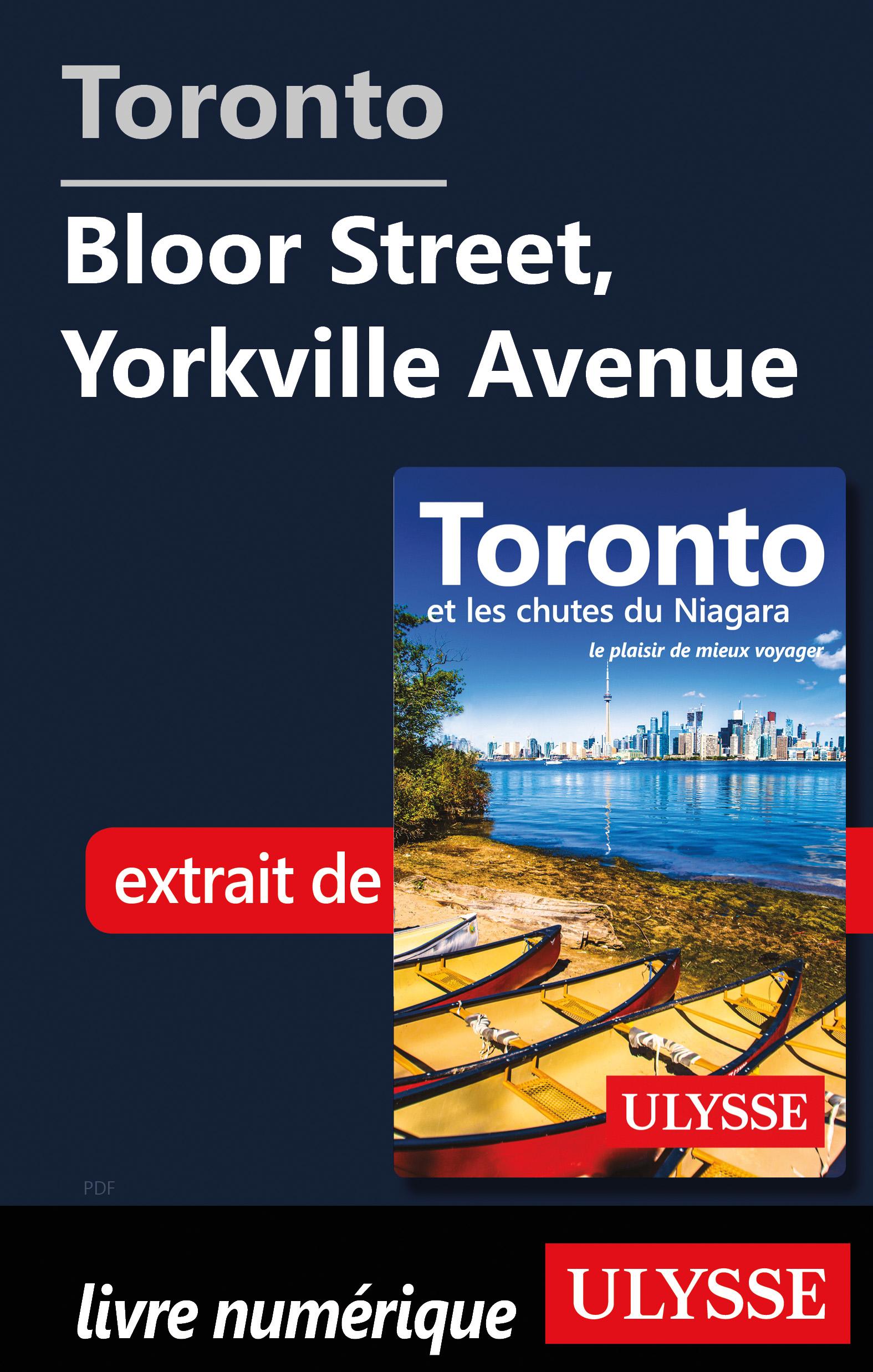 Toronto - Bloor Street, Yorkville Avenue