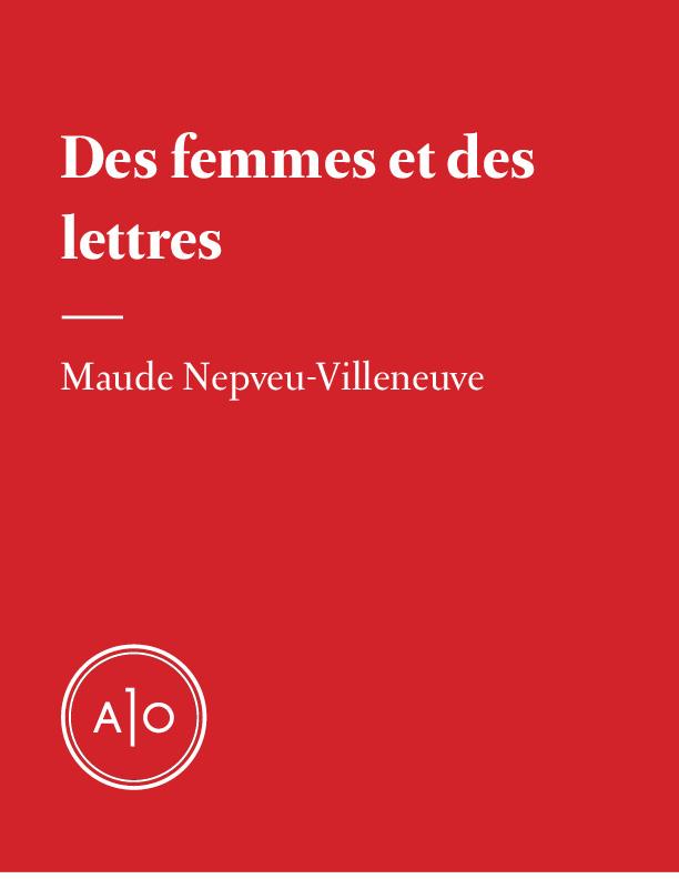 Des femmes et des lettres