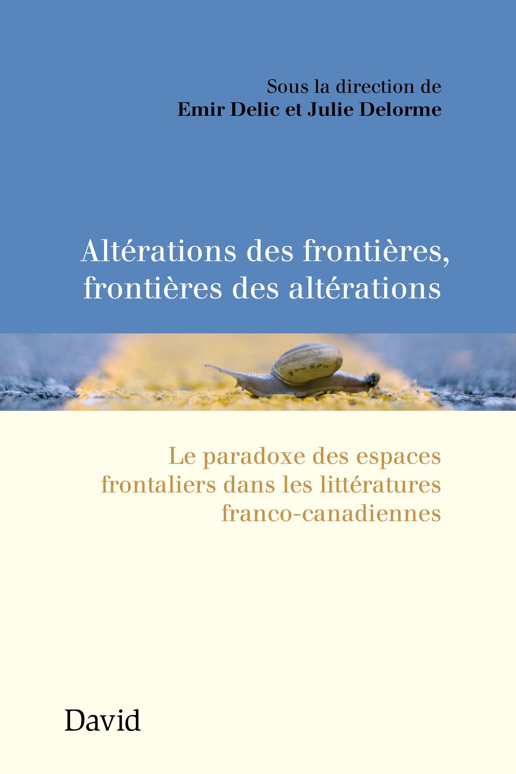 Altérations des frontières, frontières des altérations