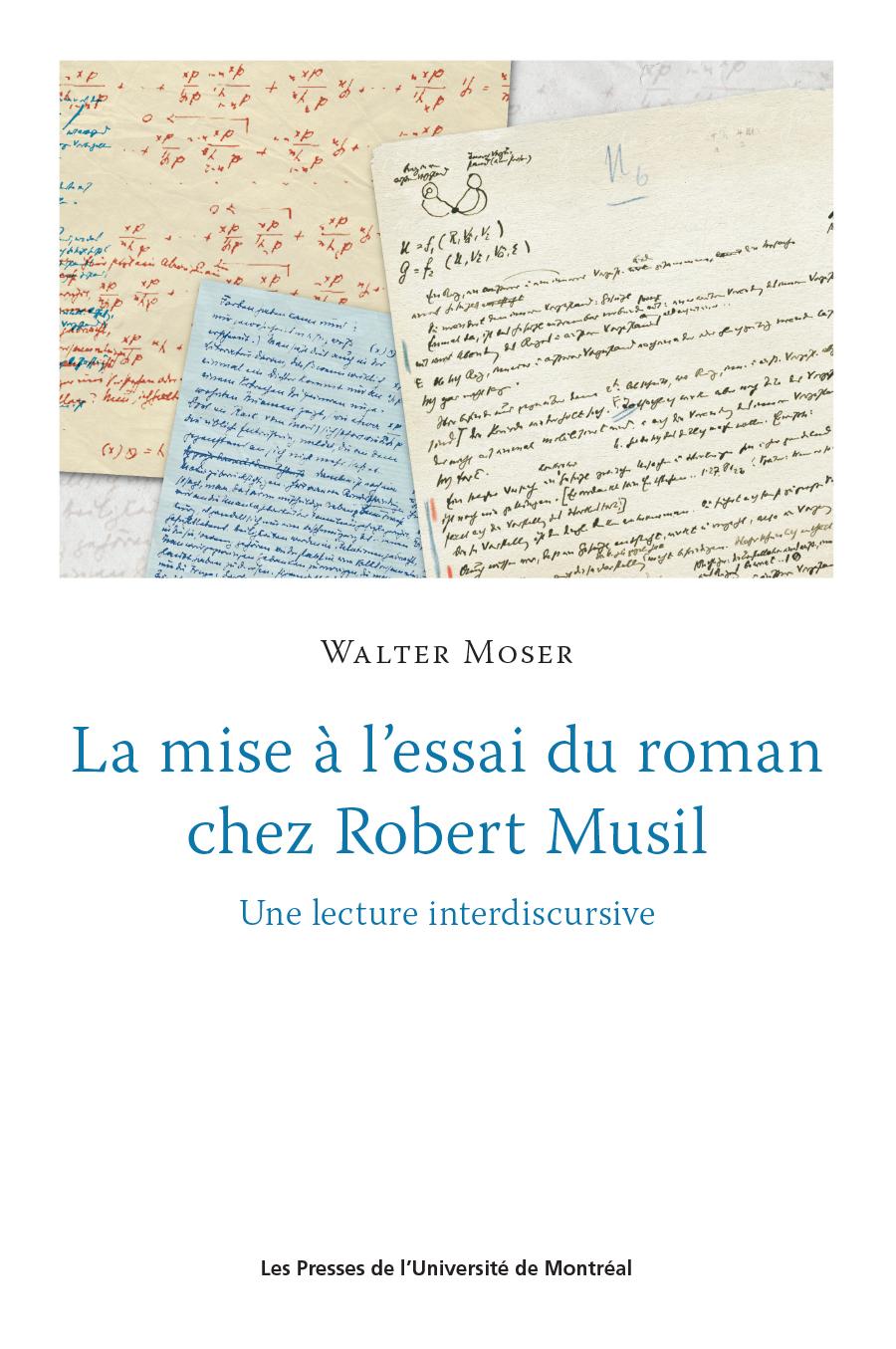 La mise à l'essai du roman chez Robert Musil
