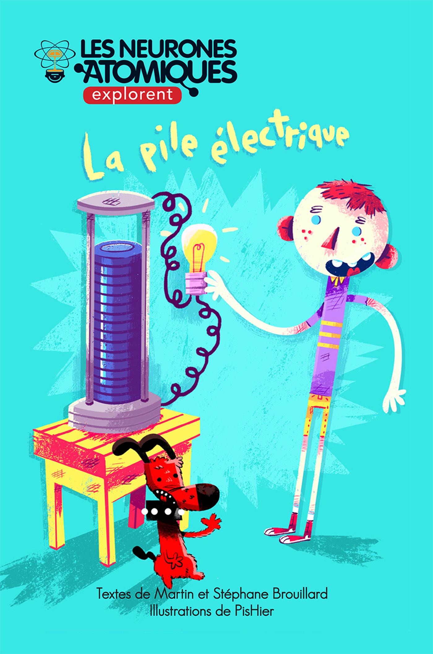 Les Neurones Atomiques explorent la pile électrique