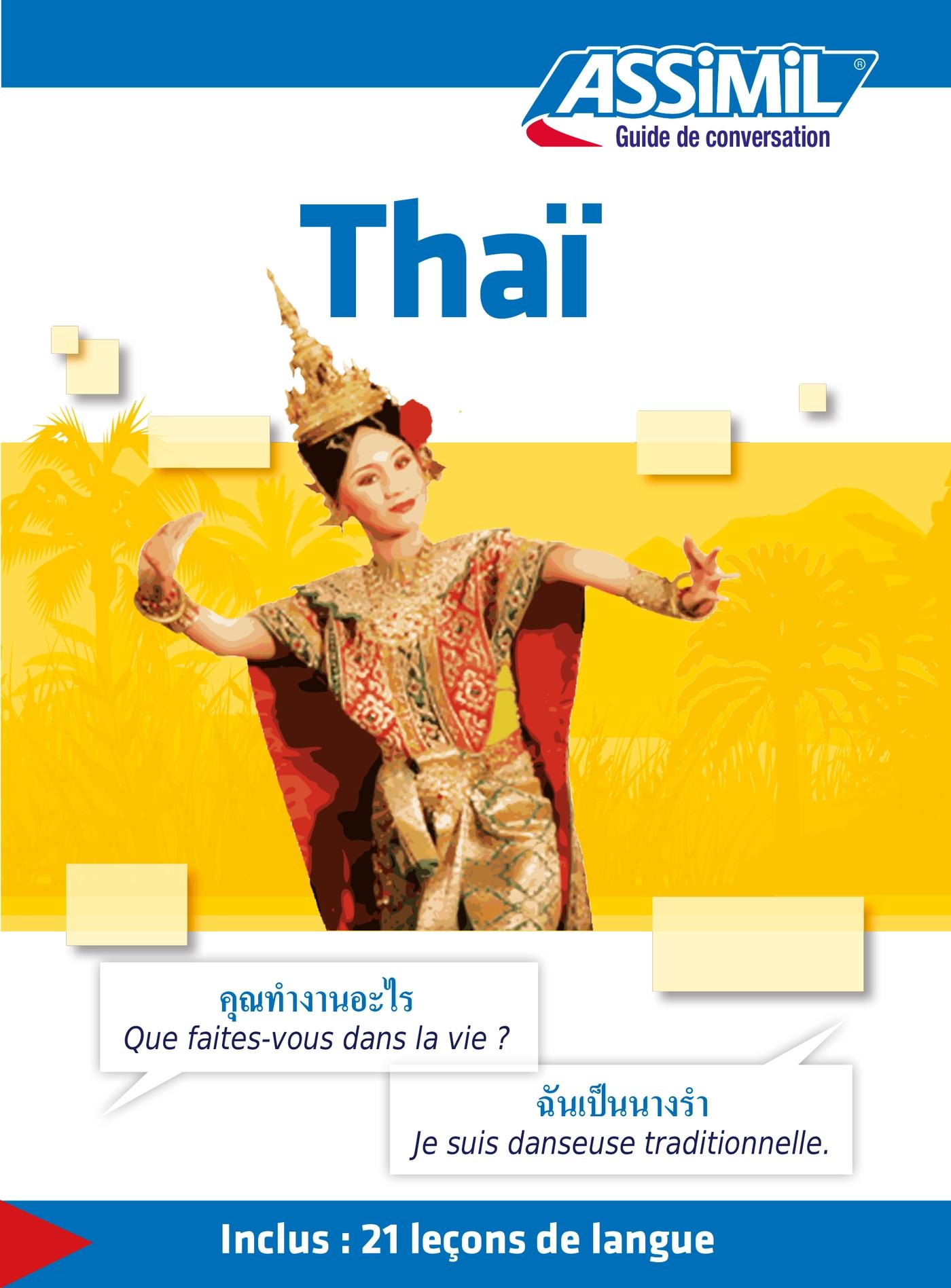 Thaï  Guide de conversation