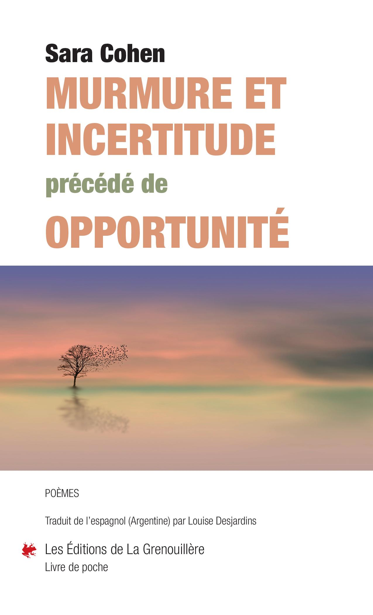 Murmure et incertitude