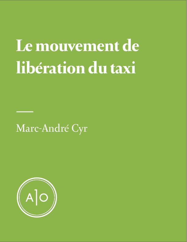Le mouvement de libération du taxi