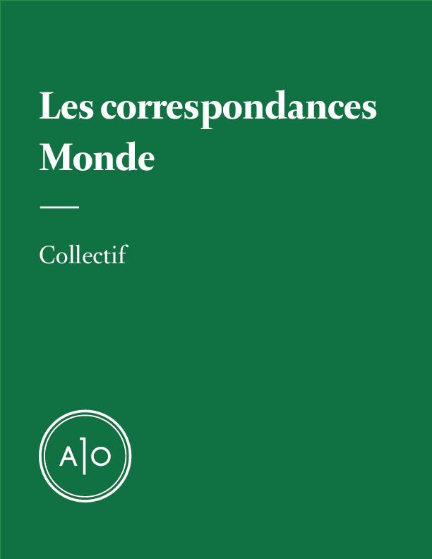 Correspondances - Monde