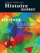 Image de couverture (Histoire Québec. Vol. 23 No. 4,  2018)