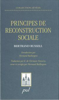 Image de couverture (Principes de reconstruction sociale Les)