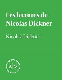 Les lectures de Nicolas Dic...