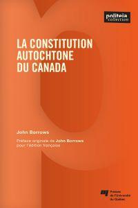 La constitution autochtone ...