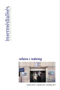 Intermédialités. No 28-29, Automne 2016 - printemps 2017