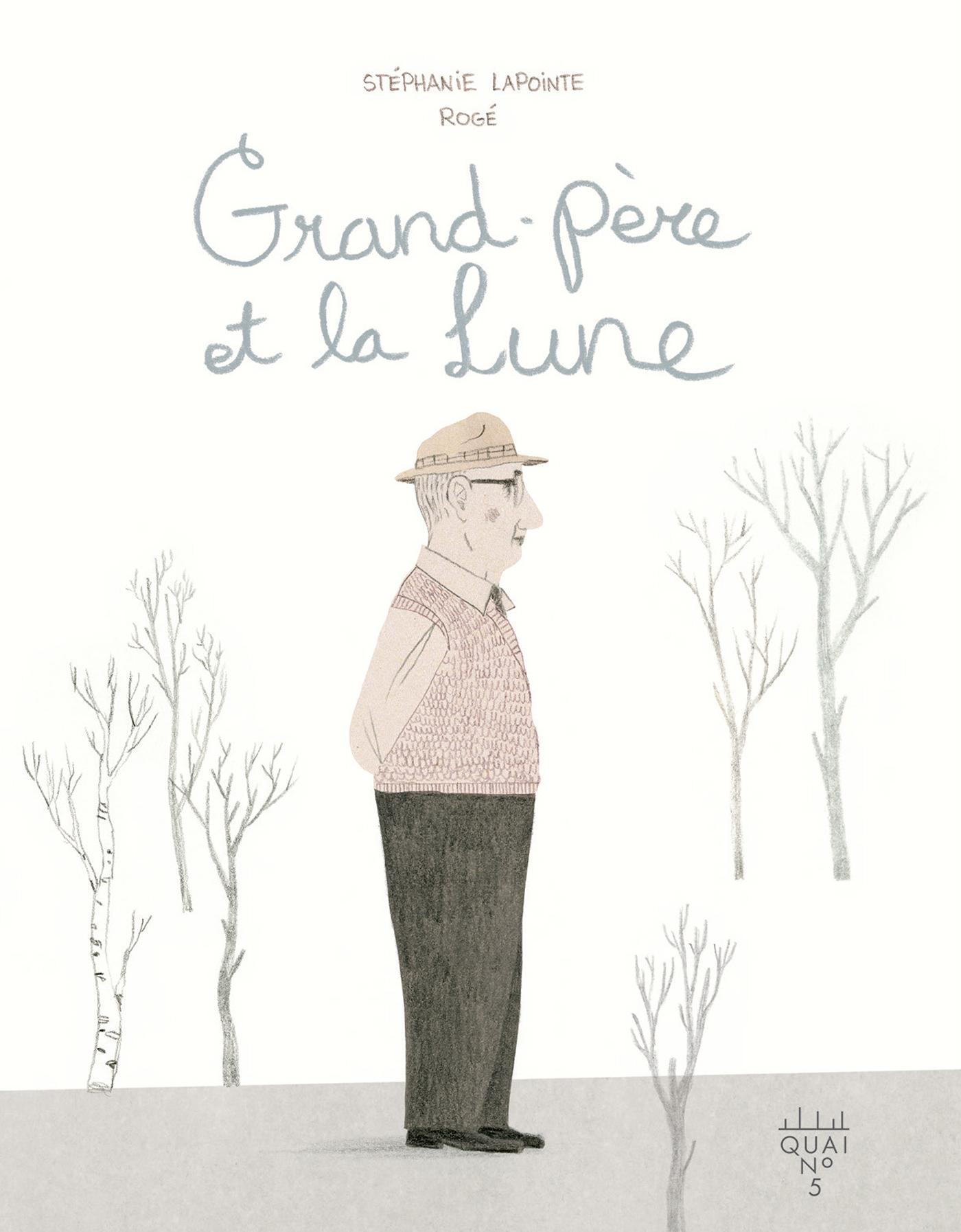 Grand père et la Lune
