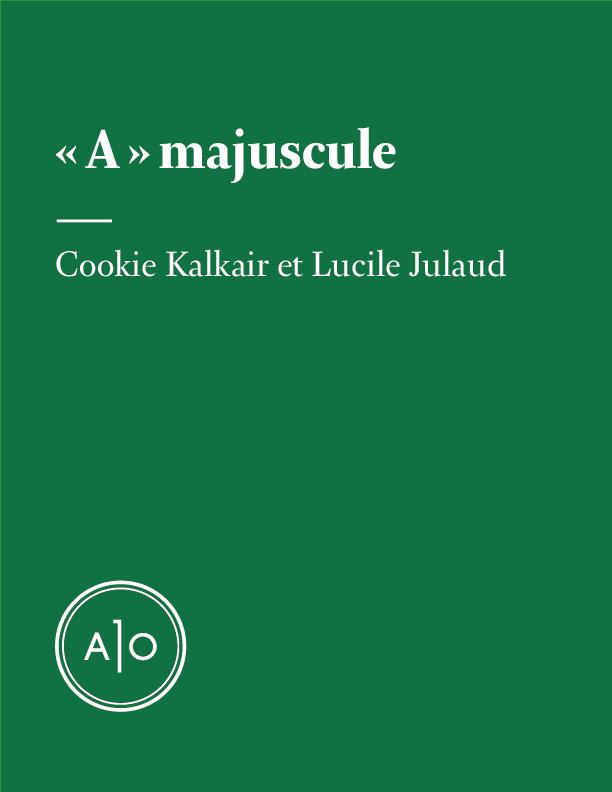 « A » majuscule